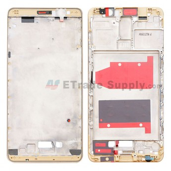 For Huawei Mate 9 Front Housing Replacement - Gold - Grade S+ (0)