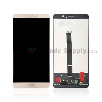 For Huawei Mate 9 LCD Screen and Digitizer Assembly Replacement - Gold - With Logo - Grade S+ (0)