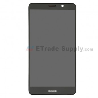 For Huawei Mate 9 LCD Screen and Digitizer Assembly with Front Housing Replacement - Black - With Logo - Grade S+ (0)