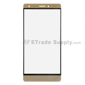 For Huawei Mate S Glass Lens Replacement - Gold - Huawei Logo - Grade R (0)