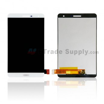 For Huawei MediaPad T2 7.0 Pro PLE-701L LCD Screen and Digitizer Assembly Replacement - White - With Logo - Grade S+ (0)