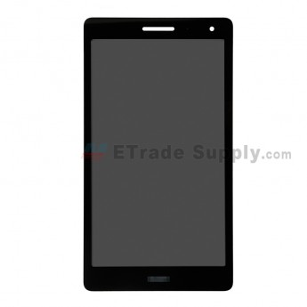 For Huawei MediaPad T3 LCD Screen and Digitizer Assembly Replacement ( 3G Version )- Black -With Logo - Grade S+ (0)