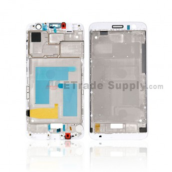 For Huawei Nova Plus Front Housing Replacement - White - Grade S+ (0)