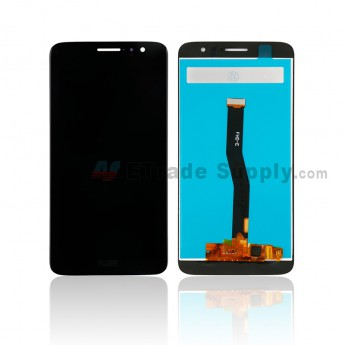 For Huawei Nova Plus LCD Screen and Digitizer Assembly Replacement - Black - With Logo - Grade S+ (0)