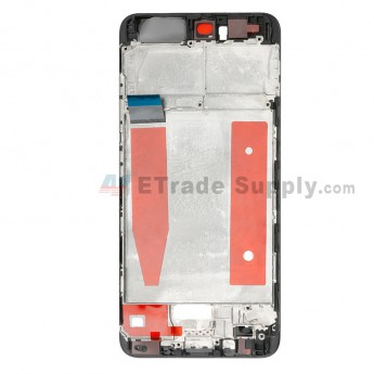 For Huawei P10 Front Housing Replacement - Black - Grade S+ (0)
