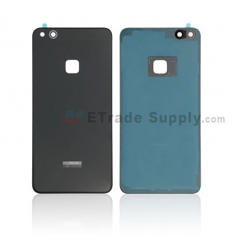 For Huawei P10 Lite Battery Door - Black - With Logo - Grade S+ (0)