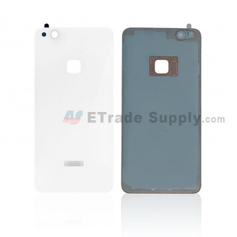 For Huawei P10 Lite Battery Door - White - With Logo - Grade S+ (0)