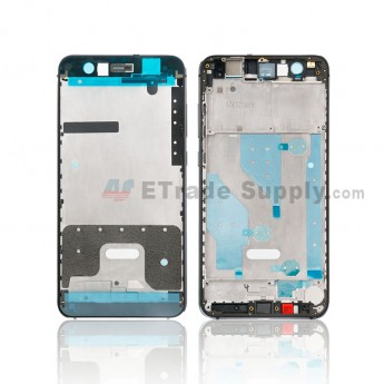 For Huawei P10 Lite Front Housing Replacement - Black - Grade S+ (0)