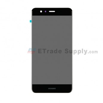 For Huawei P10 Lite LCD Screen and Digitizer Assembly - Black - With Logo - Grade S+ (0)