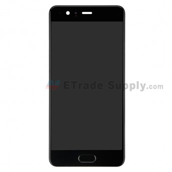 For Huawei P10 Plus LCD Screen and Digitizer Assembly with Frame Replacement - Black - With Logo - Grade S+ (0)