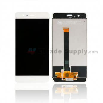For Huawei P10 Plus LCD Screen and Digitizer Assembly with Frame Replacement - White - With Logo - Grade S+ (0)
