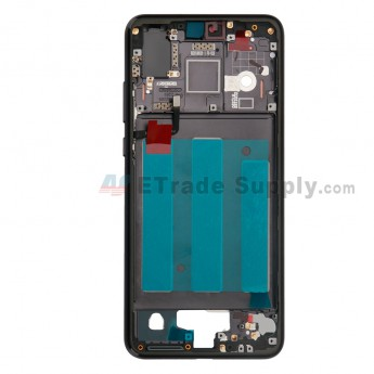 For Huawei P20 Front Housing Replacement - Black - Grade S+ (0)