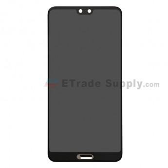 For Huawei P20 LCD Screen and Digitizer Assembly Replacement - Black - Without Logo - Grade S+ (0)