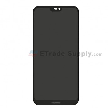 For Huawei P20 Lite LCD Screen and Digitizer Assembly Replacement - Black - With Logo - Grade S+ (0)