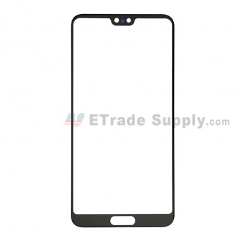For Huawei P20 Pro Glass Lens Replacement - Black - Grade S+ (0)