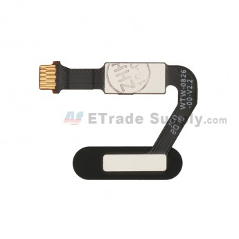 For Huawei P20 Pro Home Button Flex Cable Ribbon Replacement - Black - Grade S+ (0)