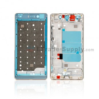 For Huawei P8 Front Housing Replacement - Gold - Grade S+ (0)