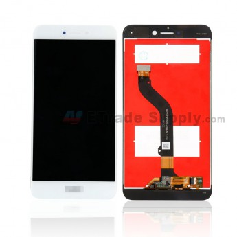 For Huawei P8lite 2017 LCD Screen and Digitizer Assembly Replacement - White - Huawei Logo - Grade S+ (0)