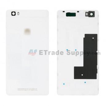 For Huawei P8lite Battery Door Replacement - White - Huawei Logo - Grade S+ (0)
