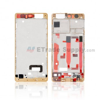 For Huawei P9 Front Housing Replacement - Gold - Grade S+ (0)