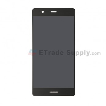 For Huawei P9 Plus LCD Screen and Digitizer Assembly Replacement - Black - With Logo - Grade S+ (0)