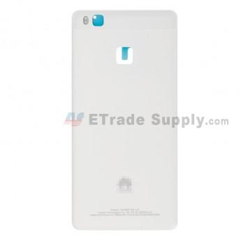 For Huawei P9 lite Battery Door Replacement - White - Huawei Logo - Grade S+ (6)