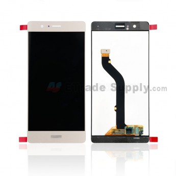 For Huawei P9 lite LCD Screen and Digitizer Assembly Replacement - Gold - Huawei Logo - Grade S+ (0)