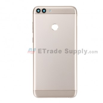 For Huawei P Smart Battery Door Replacement - Gold - With Logo - Grade S+ (0)