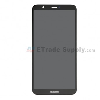For Huawei P Smart LCD Screen and Digitizer Assembly Replacement - Black - With Logo - Grade S+ (0)