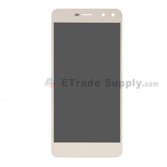 For Huawei Y5 2017 LCD Screen and Digitizer Assembly Replacement - Gold - With Logo - Grade S+ (0)