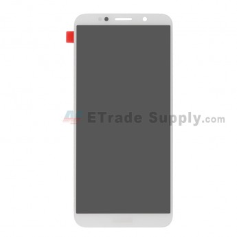 For Huawei Y5 2018 (Y5 Prime 2018) LCD Screen and Digitizer Assembly Replacement - White - With Logo - Grade S+ (0)