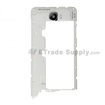 For Huawei Y5 II Middle Plate Replacement (Double SIM Card) - Black - Grade S+ (0)