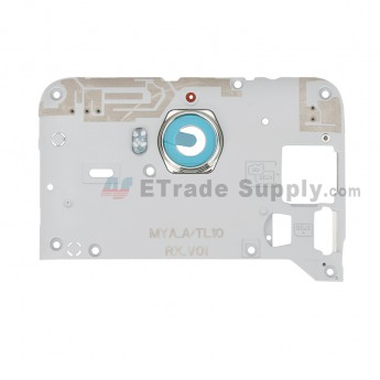 For Huawei Y6 2017 Middle Plate Replacement - Gray - Grade S+ (0)