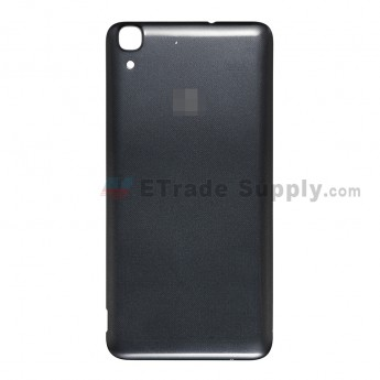 For Huawei Y6 Battery Door Replacement - Black - Huawei Logo - Grade S+ (4)