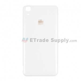 For Huawei Y6 Battery Door Replacement - White - Huawei Logo - Grade S+ (4)