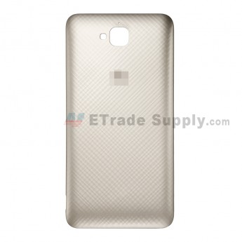 For Huawei Y6 Pro/Enjoy 5 Battery Door Replacement - Gold - Huawei Logo - Grade S+ (1)