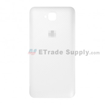 For Huawei Y6 Pro/Enjoy 5 Battery Door Replacement - White - Huawei Logo - Grade S+ (1)