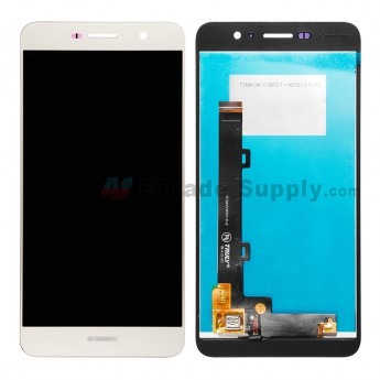 For Huawei Y6 Pro/Enjoy 5 LCD Screen and Digitizer Assembly Replacement - Gold - Huawei Logo - Grade S+ (4)
