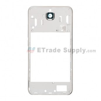 For Huawei Y6 Pro/Enjoy 5 Middle Plate Replacement - White - Grade S+ (0)