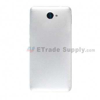 For Huawei Y7 2017 Battery Door Replacement - Silver - With Logo - Grade S+ (7)