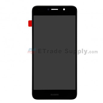 For Huawei Y7 2017 LCD Screen and Digitizer Assembly Replacement - Black - With Logo - Grade S+ (7)