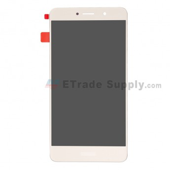 For Huawei Y7 2017 LCD Screen and Digitizer Assembly Replacement - Gold - With Logo - Grade S+ (0)