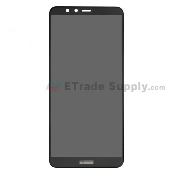 For Huawei Y9 2018 LCD Screen and Digitizer Assembly Replacement - Black - With Logo - Grade S+ (0)