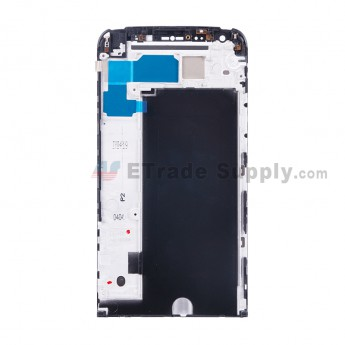 For LG G5 H840/H850/H820/LS992/VS987 Front Housing Replacement - Black - Grade S+ (0)