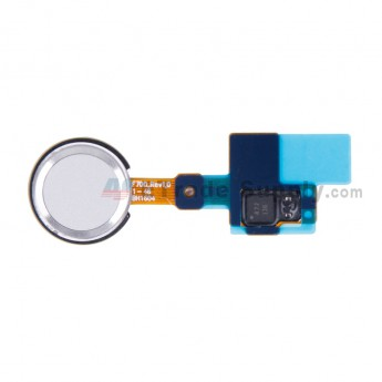 For LG G5 H840/H850 Fingerprint Sensor Flex Cable Ribbon Replacement - Silver - Grade S+ (1)