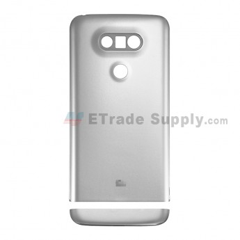 For LG G5 H840/H850 Rear Housing and Bottom Cover Replacement - Silver - With G5 Logo - Grade S+ (4)