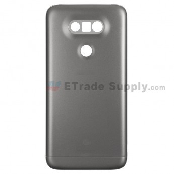For LG G5 VS987 Rear Housing and Bottom Cover Replacement - Gray - With G5 and Verizon Logo - Grade S+ (0)