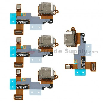 For LG G6 H871/H872/AS993/US997/LS993 Charging Port Flex Cable Ribbon Replacement - Grade S+ (0)