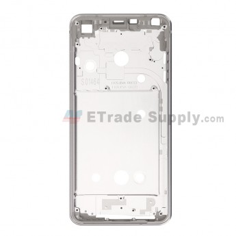For LG G6 H871/H872/AS993/US997/LS993 Front Housing Replacement - Silver Gray - Grade S+ (0)