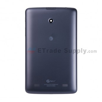 For LG G Pad 7.0 LTE V410 Battery Door Replacement - Black - With Logo - Grade S+ (0)